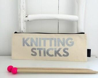 Knit Me Knitting Needle Case