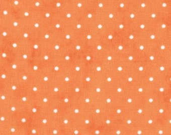 Tangerine Dot - Fabric from Moda