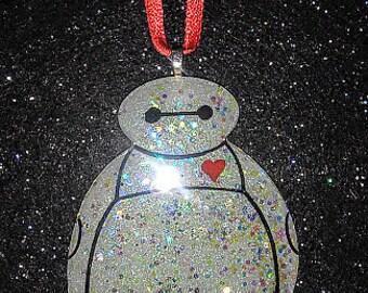Sparkle Baymax Ornament