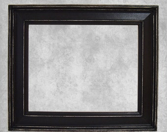 Picture Frame Black Picture Frame Rustic Picture Frame Decor Wedding Frame Distressed Frame Shabby Chic Picture Frame 8x10 Frame More Colors