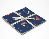 """Greatest Adventure 10"""" squares Stacker by Natalie Lymer for Riley Blake, 18 pieces"""