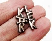 Swedish jewelry bronze love kärlek