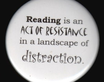 Reading Act of Resistance Button