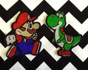 Mario or Yoshi patch