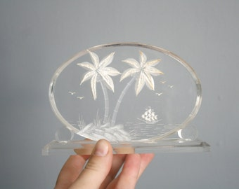 Lucite Vacation Sculpture