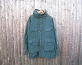 Vintage Woolrich 60/40 Parka Mens Large Wool Lined