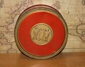 Vintage Fruit Cake Tin - item #1365