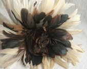 Vintage feather duster  ostrich feather duster
