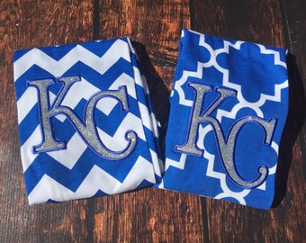 2-3 week wait!!  KC Royals Sparkly Infinity Scarf, KC Infinity Scarf, KC Love, Royals Love, Sparkly Royals, Fun Royals Scarf, Royals Pride
