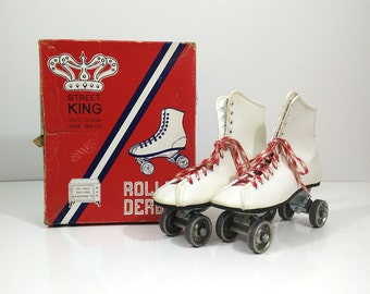 Roller Derby Street King Roller Skates - Size 5 white