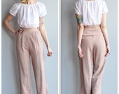 1930s Pants // Lightweight Summer Pants // vintage 30s pants