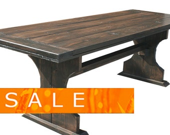 SUMMER SALE: 7 foot Heather table
