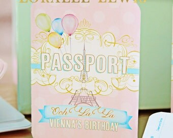 Paris, Passports and Puppies Passports by Loralee Lewis