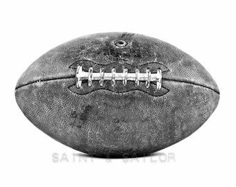 Black and White Football Photo print, Boys Room decor, Boys Nursery Ideas, Sports art, Sport Prints, Man Cave