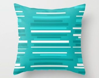 Outdoor Pillow, Striped Outdoor Pillow, Modern Outdoor Pillow, Mid Century Modern Outdoor Pillow, Modern Outdoor