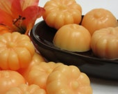 pumpkin soap set 8 glycerin soap soap dish filler guest soaps scented in orange clove