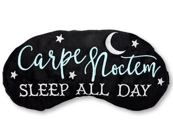 Carpe Noctem Sleep Mask