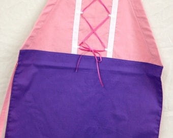 SPECIAL! Rapunzel Inspired Girls' Apron with free purse