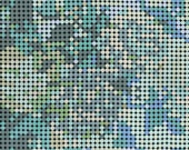 Meow or Never - Dottie Floral in Blue Green by Erin Michael for Moda Fabrics