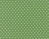 Bread 'n Butter - Potluck Dots in Green by American Jane for Moda Fabrics