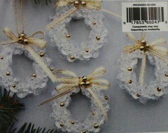 202-47 Crystal Petal Bead Wreaths