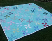 blue quilt reserved for Guia