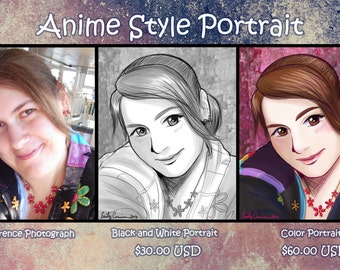 Real Life to Anime Style Portraits