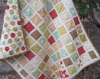 Whimsy.........A Fray Edge Quilt...Ready to Ship