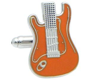 Orange Electric Guitars Cufflinks