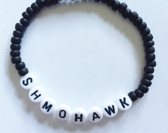 Choose Your Color! SHMOHAWK (Curb Your Enthusiasm) Beaded Bracelet