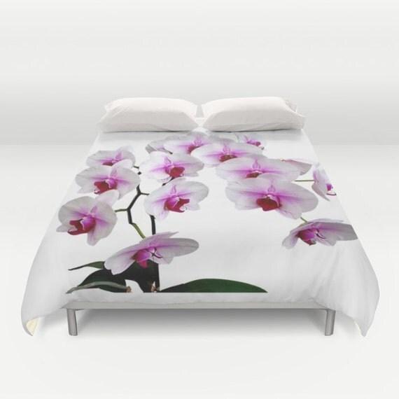 Satin Pillowcase Dublin: Doritaenopsis Orchid Flowers Duvet Cover Color Photography