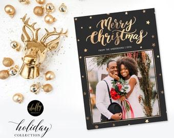Holiday Photo Card, Christmas Photo Card, Photo Christmas Card, Holiday Card, Christmas Card 5x7 Holiday Card - ONE SIDED