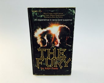 Vintage Horror Book The Fury by John Farris 1978 Edition Paperback Supernatural