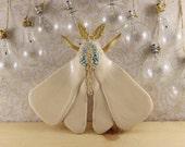 Ceramic Animals Moth Wall Hanging