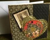card wedding handmade fancy