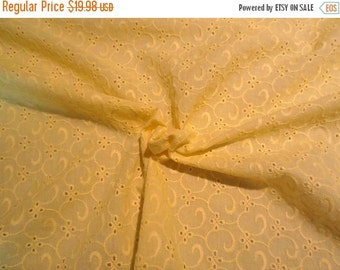 On Sale White Swiss Dot Pure Cotton Voile By