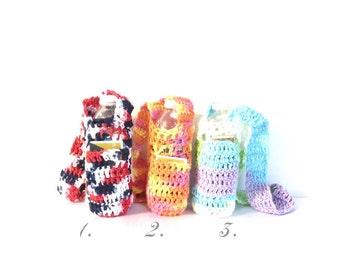 Crochet Water Bottle, 100% Cotton,  Water Bottles Bag