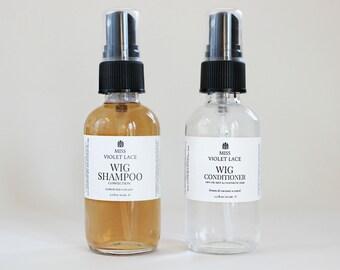 Wig Shampoo & Wig Conditioner Set   Synthetic Hair Wig Wash, Dreadlocks Shampoo, Hair Extension Wash