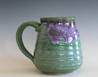 Pottery Mug, 15 oz, pottery mug, unique coffee mug, handmade ceramic cup, tea cup, coffee cup, handthrown mug, stoneware mug