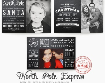 North Pole Express 5x7 WHCC Cards