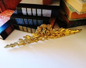Brass Bow Wall Ornament, Cottage Chic, French Country, English Country, Nursery Decor