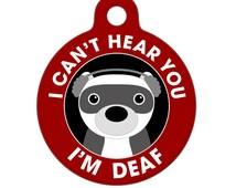 Popular Items For Deaf Dog On Etsy