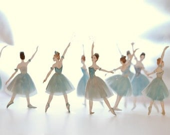 Waltz of the Snowflakes - photographic print by Elly MacKay