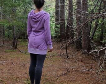 Organic Hooded Hemp Tunic/Hemp Top/Hemp Dress