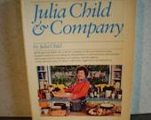 Vintage 1970's Julia Child Cookbook - Julia Child & Company