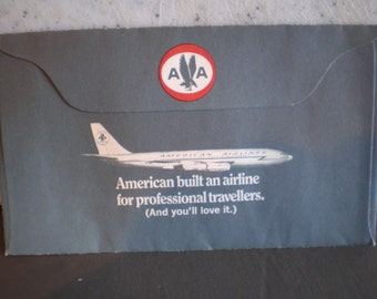 Vintage Mid Century Advertisment - American Airlines - Blackstone Theatre Production - Odd Couple