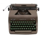Rejuvenated Royal Quiet Deluxe Typewriter - Excellent Working Order - Vintage -1950's - Manual - Portable