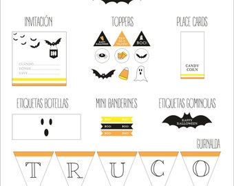 Printable Party: Halloween Party