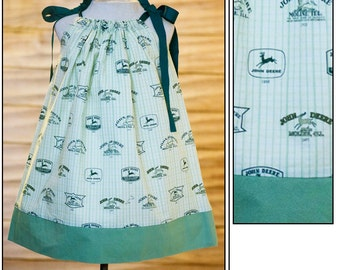 John Deere 2-4 years Pillowcase Dress