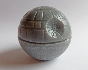 Star Wars Death Star 3D Soap Bar 4.25 oz - You pick scent & color